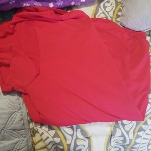 Lularoe classic tee. Red-pink